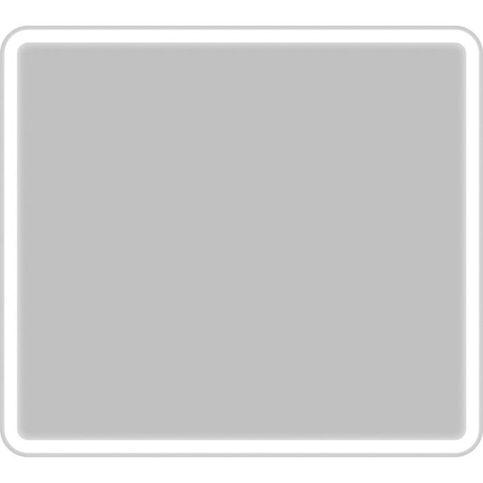 Фото - Зеркало BelBagno Spc-Mar 90 с подсветкой, кнопочный выключатель (SPC-MAR-900-800-LED-BTN) зеркало 90х80 см belbagno spc mar 900 800 led btn