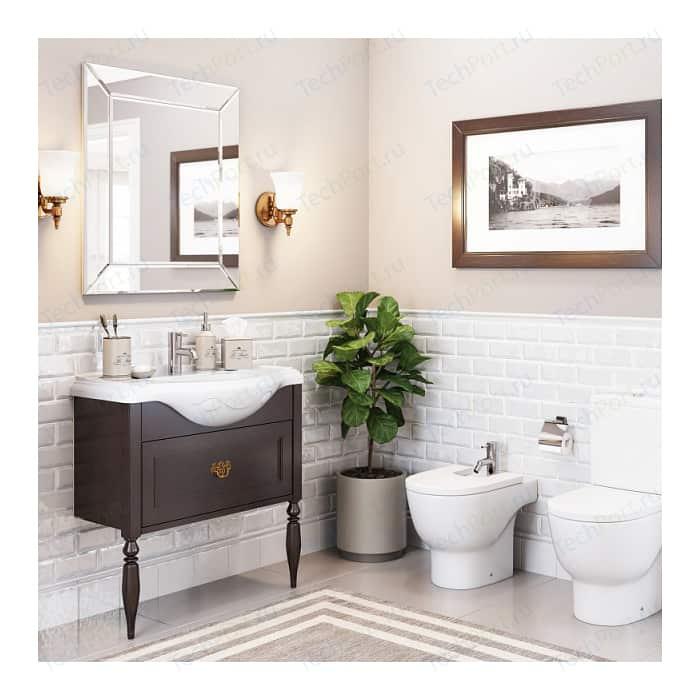 Мебель для ванной Roca America Evolution L 80 дуб темный шоколад