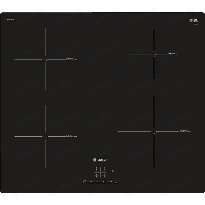 Индукционная варочная панель Bosch Serie 4 PUE611BB1E