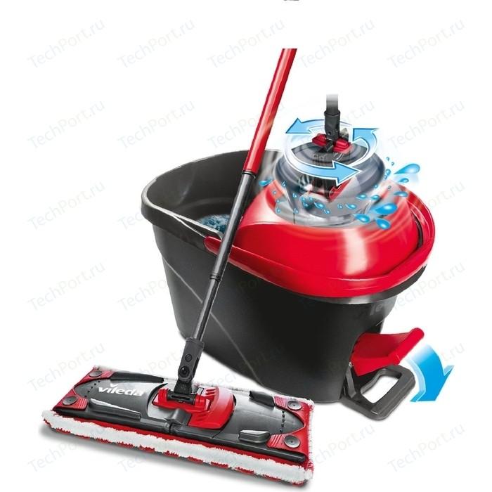 Набор для уборки VILEDA Ультрамат Easy Wring Турбо (швабра с телескопической ручкой+ведро педальным отжимом)