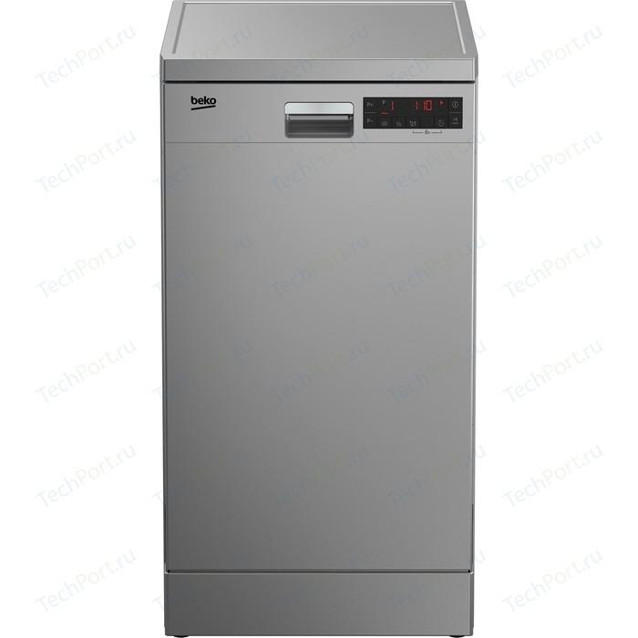 Посудомоечная машина Beko DFS 25W11 S морозильник beko rfsk 266t01 s
