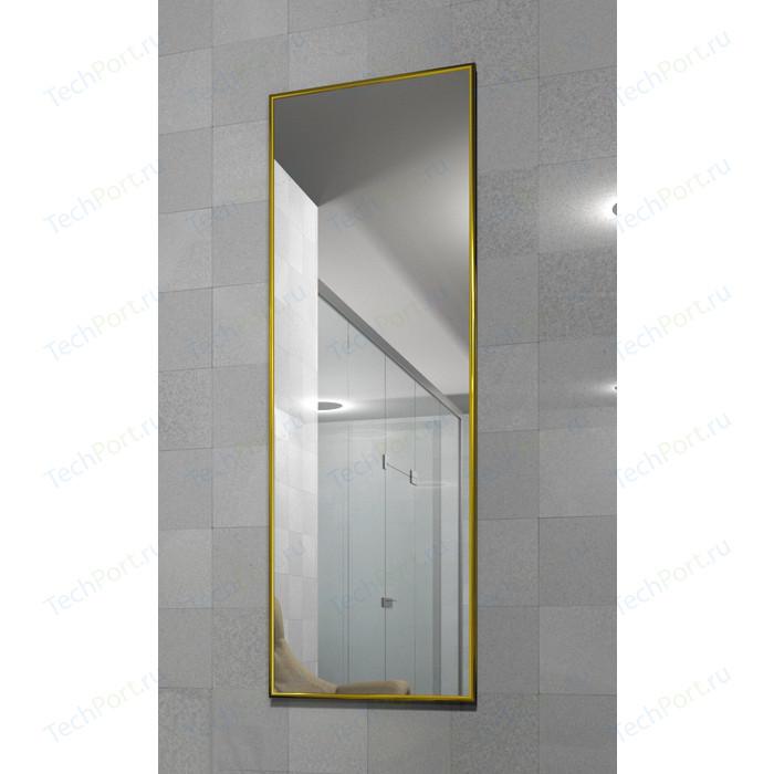 Зеркало настенное в раме Мебелик Сельетта-5 глянец золото 150х50х9