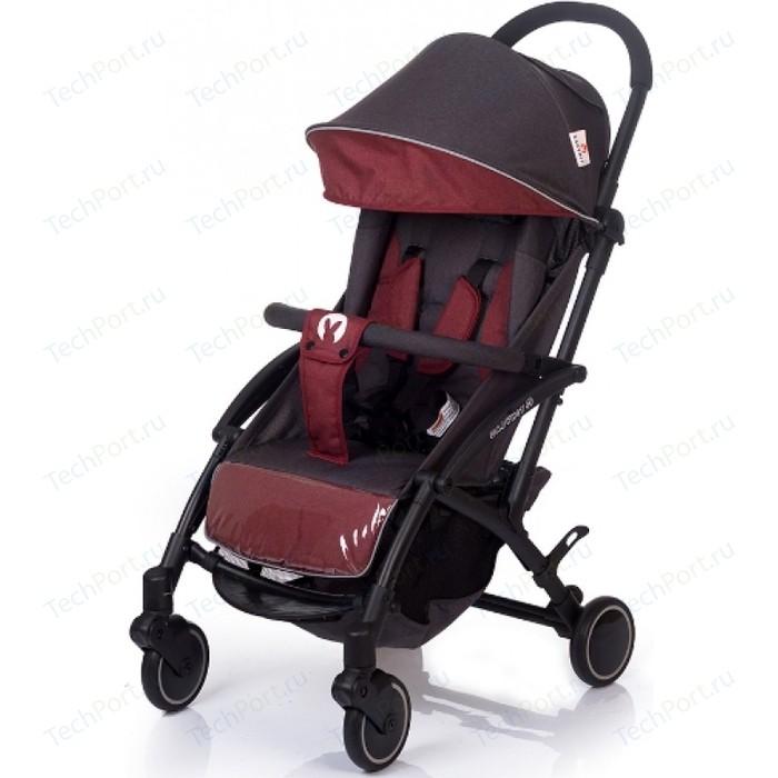 Коляска прогулочная BabyHit ALLURE DARK GREY RED Темно серый с красным (темная рама)