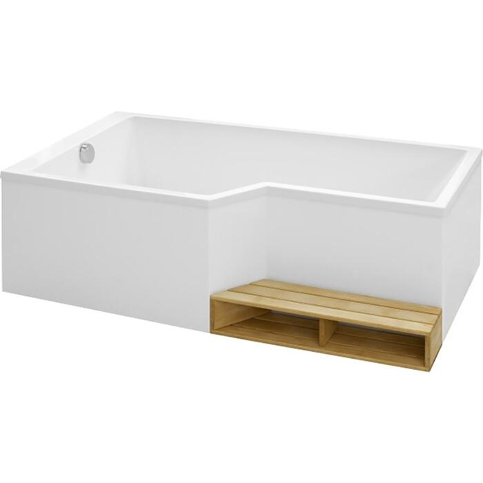 Акриловая ванна Jacob Delafon Bain-Douche Neo 170x90 левая E6D002L-00