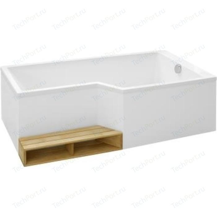 Акриловая ванна Jacob Delafon Bain-Douche Neo 170x90 правая E6D002R-00