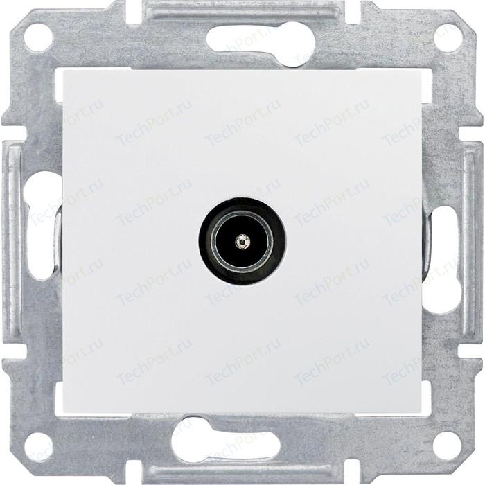 Механизм TV розетки Schneider Electric СП Sedna проходная белый (SDN3201821) механизм розетки schneider electric s53r471 odace