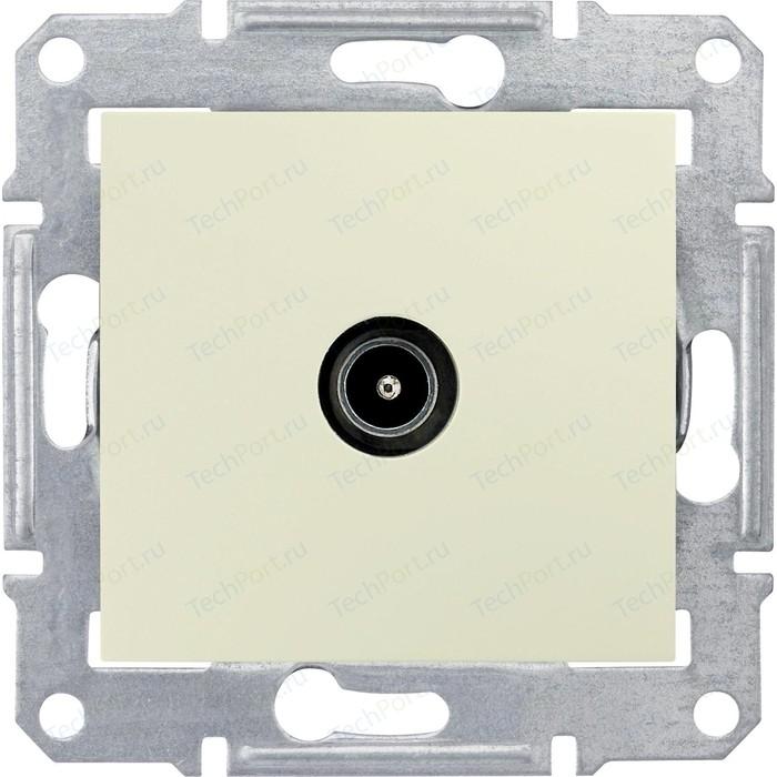 Механизм TV розетки Schneider Electric СП Sedna оконечная бежевый (SDN3201647)