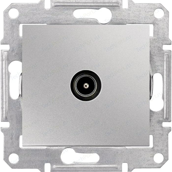 Механизм TV розетки Schneider Electric СП Sedna оконечная алюминий (SDN3201660) механизм розетки schneider electric s53r471 odace
