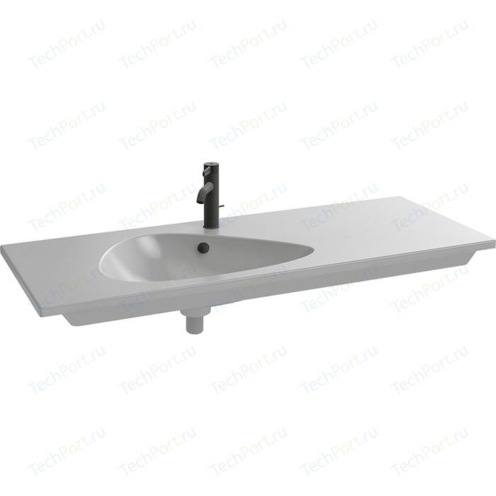 Раковина мебельная Jacob Delafon Nouvelle Vague 121x51 см, серый гранит (EXAP112-Z-MG2)