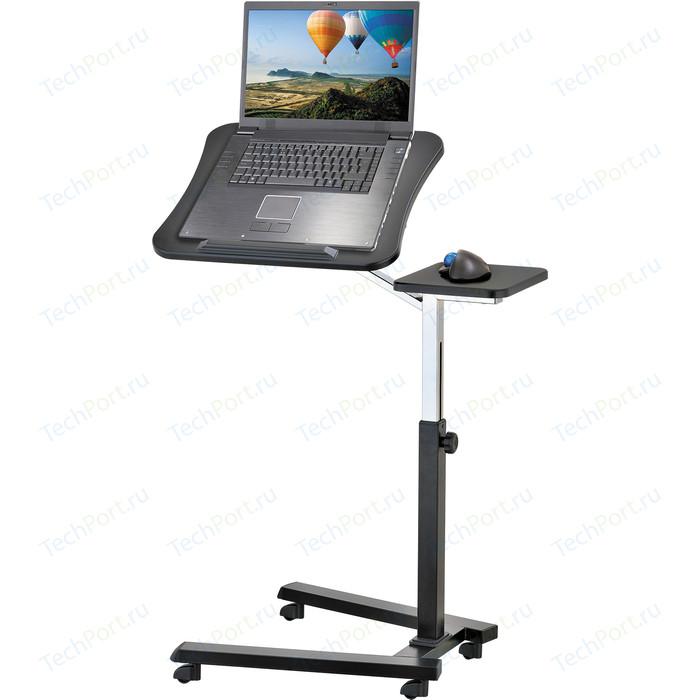 Стол для ноутбука Tatkraft JOY эргономичный, на колесиках, с подставкой мышки