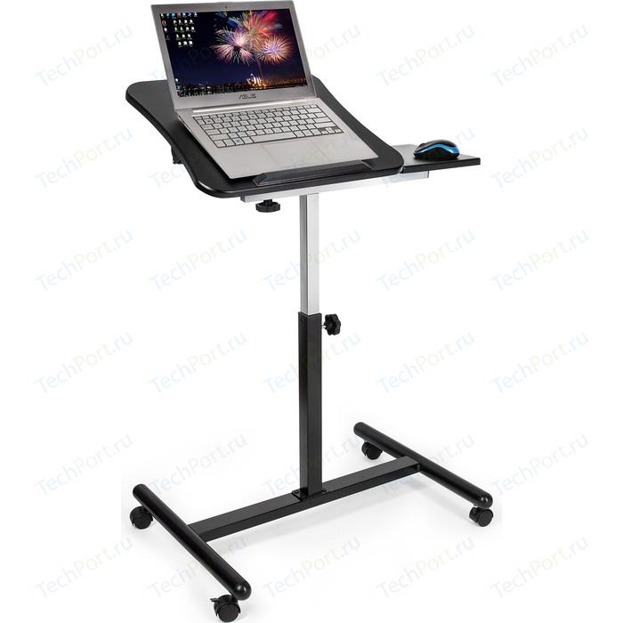 Стол для ноутбука Tatkraft Vanessa, с подставкой мыши, регулируемый, длина 71 высота 71-103.5 диагональ 40 cм