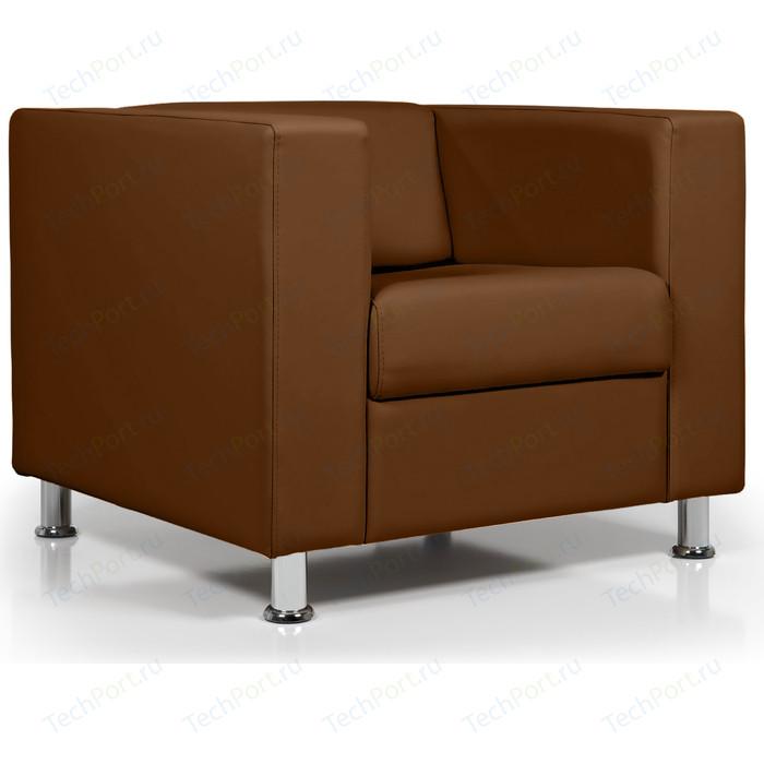 Кресло Euroforma Аполло кожа рулонная dakota, 116 коричневый