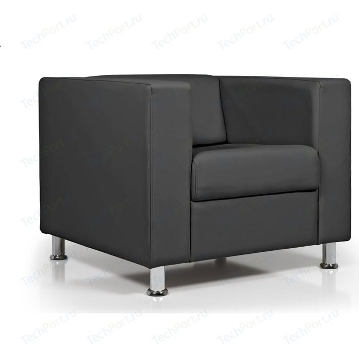 Кресло Euroforma Аполло кожа рулонная dakota, 2155 графитовый