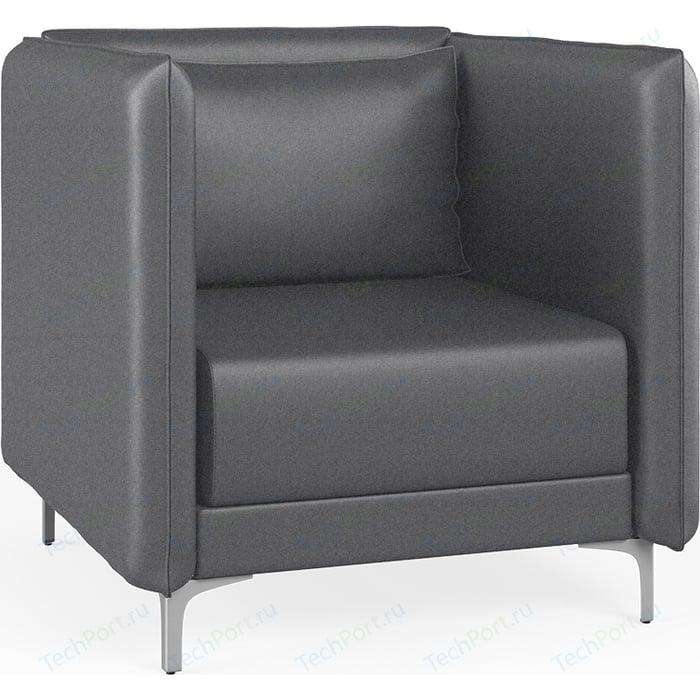 Кресло Euroforma Графит Н рогожка bravo, grey серый