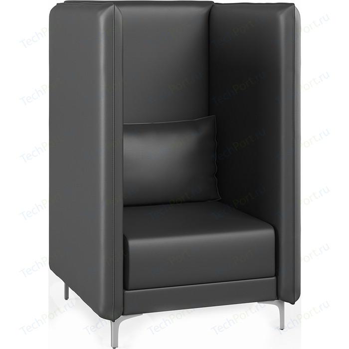 Кресло Euroforma Графит В кожа рулонная dakota, 2155 графитовый