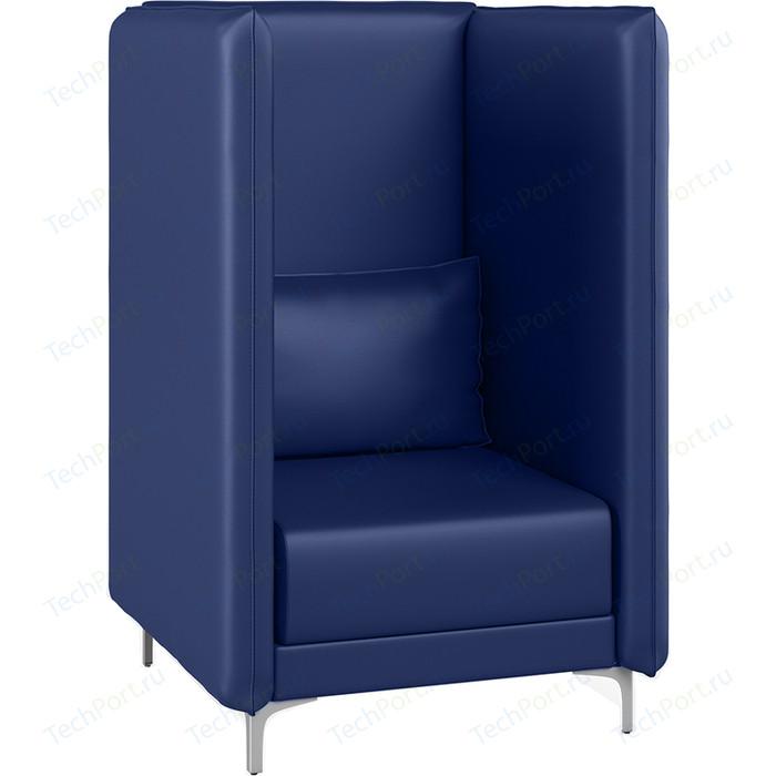 Кресло Euroforma Графит В кожа рулонная dakota, 2106 темно-синий