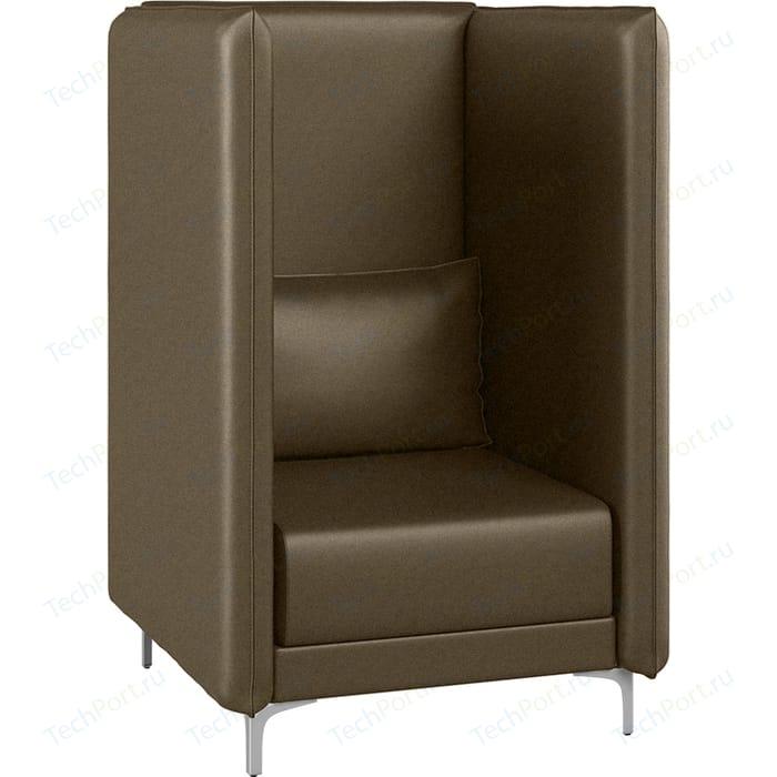 Кресло Euroforma Графит В рогожка bravo, brown