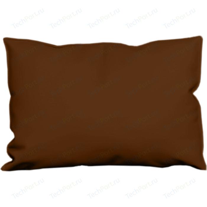 Подушка-подлокотник Euroforma Графит кожа рулонная dakota, 116 коричневый