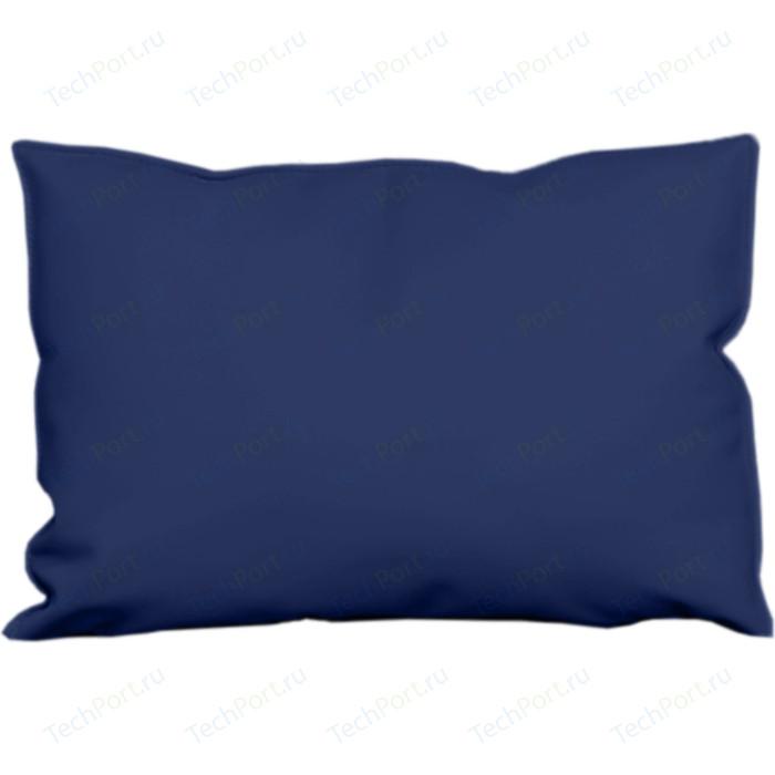 Подушка-подлокотник Euroforma Графит кожа рулонная dakota, 2106 темно-синий