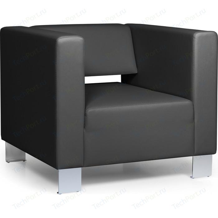 Кресло Euroforma Горизонт кожа рулонная dakota, 2155 графитовый