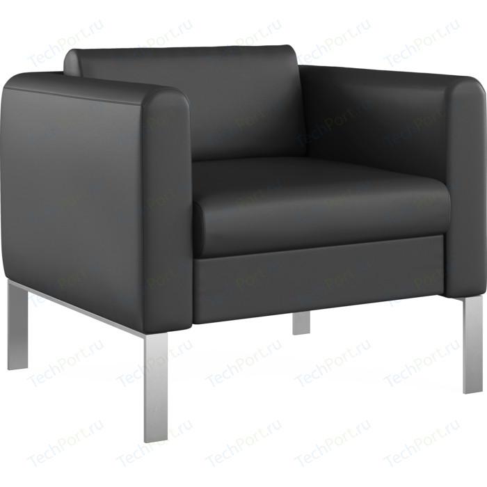 Кресло Euroforma Модерн кожа рулонная dakota, 2155 графитовый
