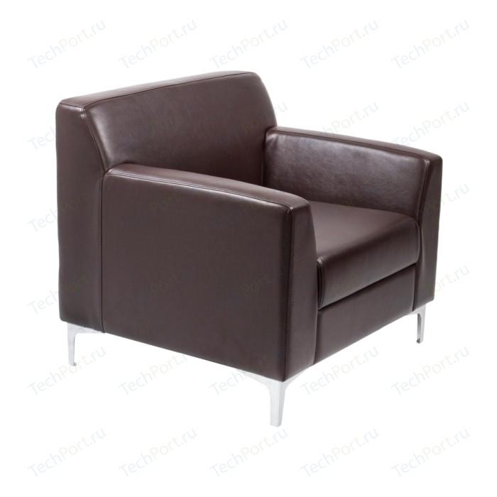Кресло Euroforma Смарт ИК terra effect, 221 темно-коричневый перламутр