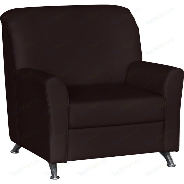 Кресло Euroforma Европа ИК terra effect, 221 темно-коричневый перламутр