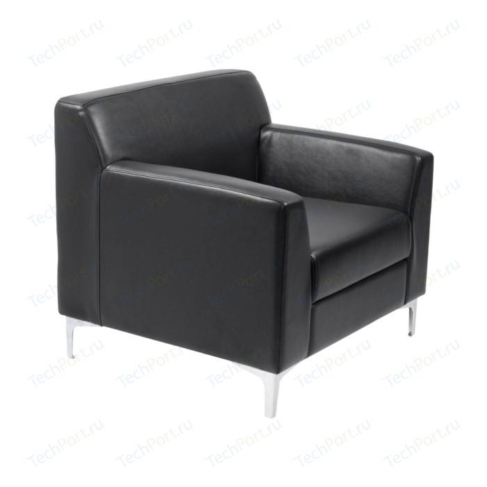 цена Кресло Euroforma Смарт ИК P2 euroline, 9100 черный онлайн в 2017 году