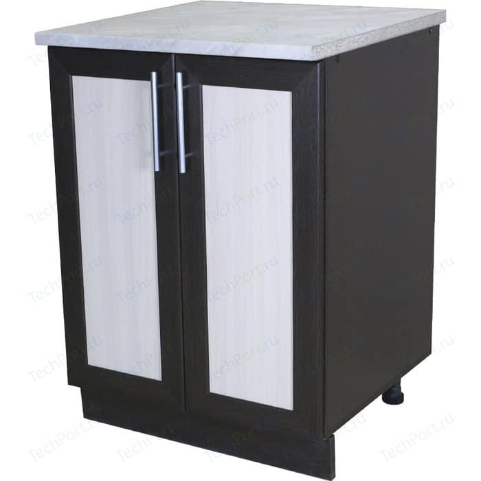 Кухонный шкаф напольный Гамма Евро 60 см венге