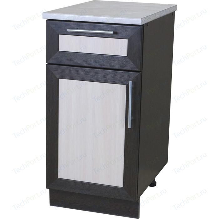 Кухонный шкаф напольный Гамма Евро с ящиком венге