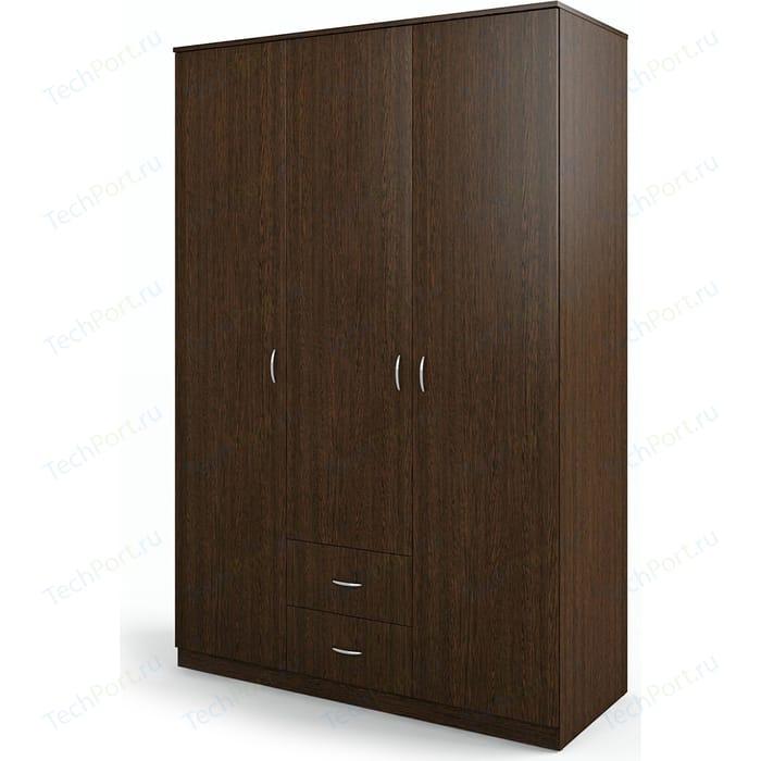 Шкаф трехдверный Гамма Мелодия 120х60 венге