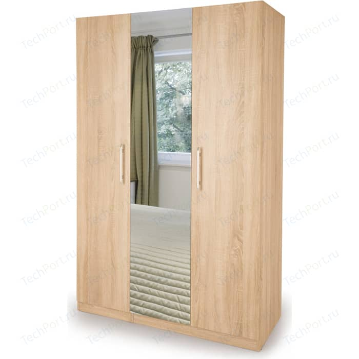 Шкаф комбинированный Гамма Шарм 105х60 дуб сонома