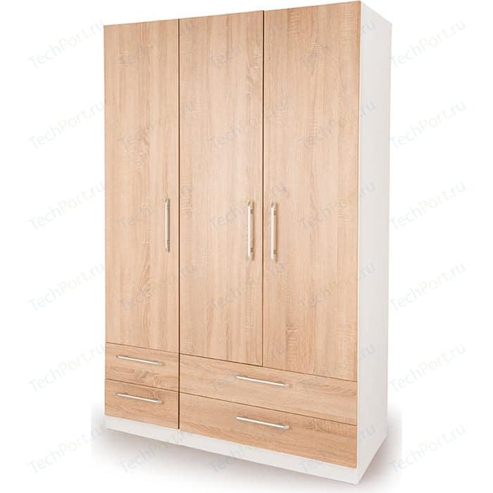 Шкаф комбинированный Гамма Шарм 120х45 белый+дуб сонома шкаф комбинированный гамма шарм 150х45 белый дуб сонома