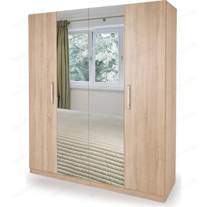 Шкаф комбинированный Гамма Шарм 160х60 дуб сонома шкаф комбинированный гамма шарм 160х60 белый дуб сонома