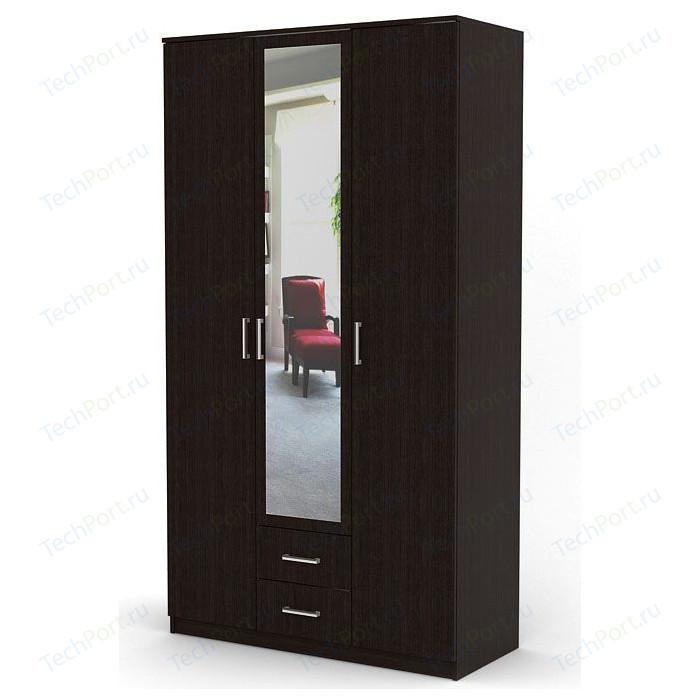 Шкаф распашной Гамма Трио 105х60 венге
