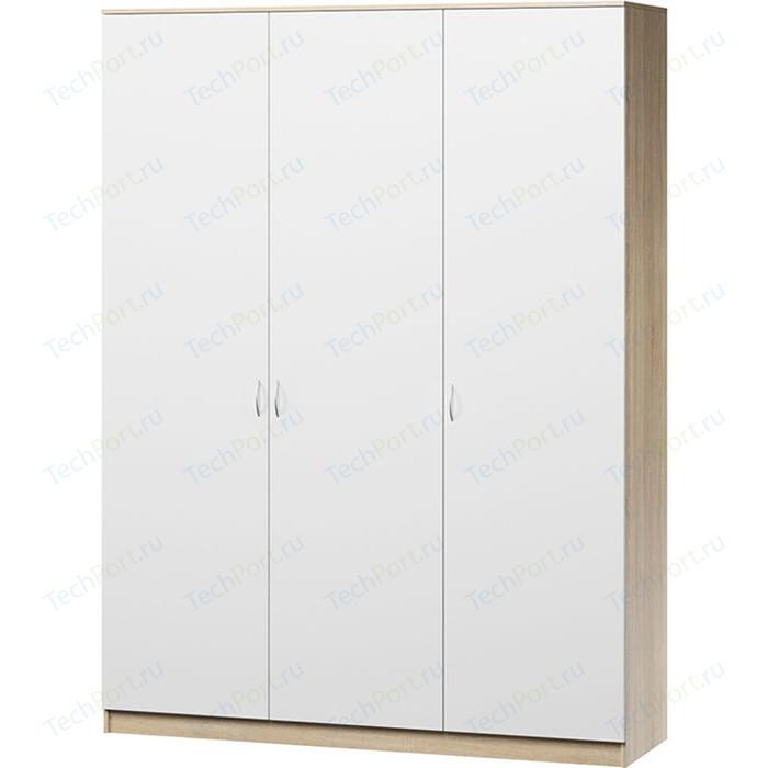 Шкаф комбинированный Гамма Лайт 150х60 дуб сонома+белый шкаф комбинированный гамма лайт 180х60 дуб сонома с зеркалом