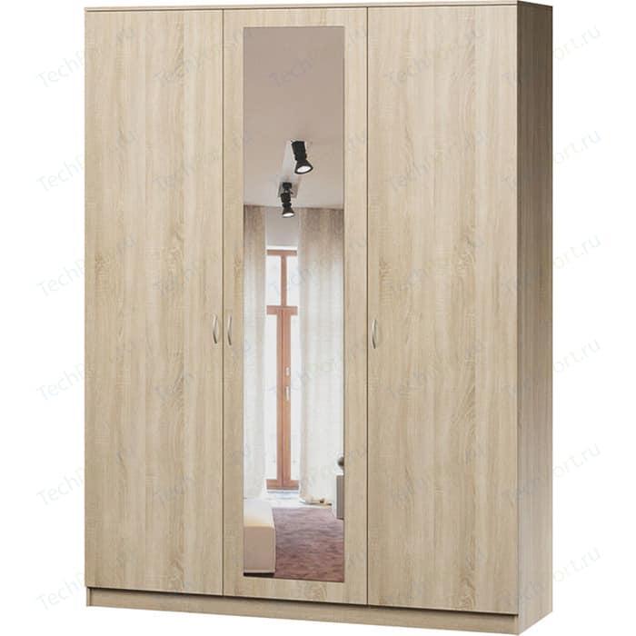 Шкаф комбинированный Гамма Лайт 150х60 дуб сонома с зеркалом шкаф комбинированный гамма лайт 140х60 дуб сонома с зеркалом