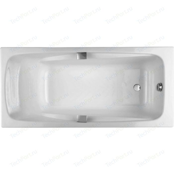 Чугунная ванна Jacob Delafon Repos 160x75 с отверстиями под ручки (E2929-00)