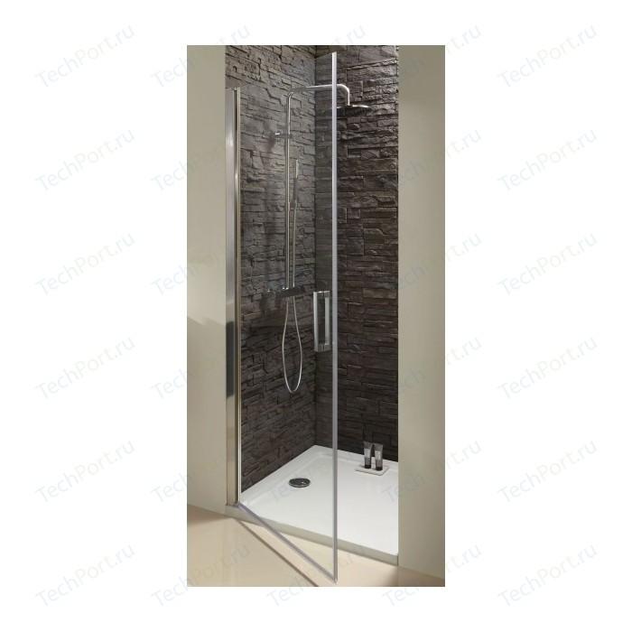 Душевая дверь Jacob Delafon Contra 100x200 стекло прозрачное, профиль хром (E22T100-GA)