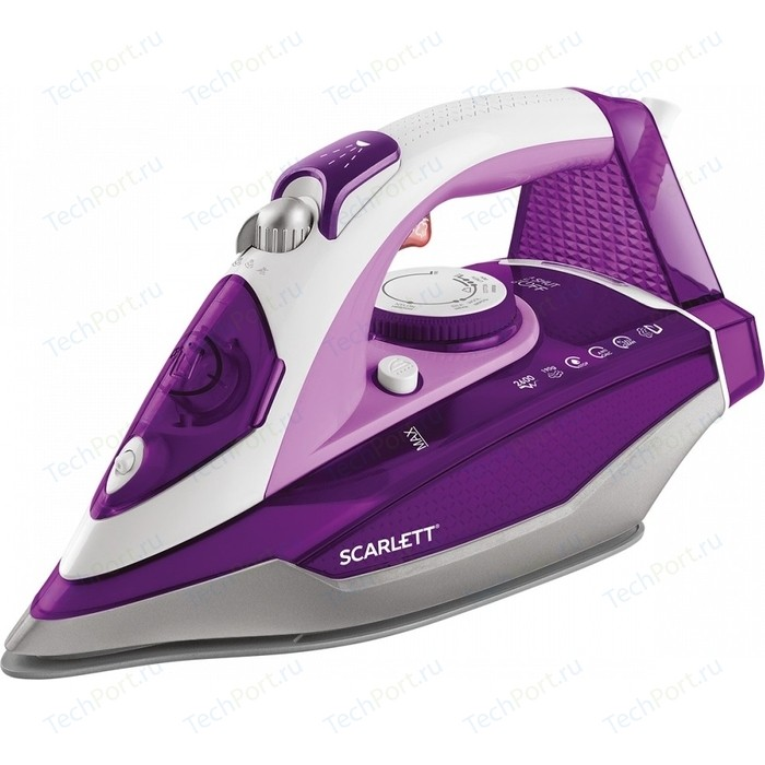 цена на Утюг Scarlett SC-SI30K36 фиолетовый