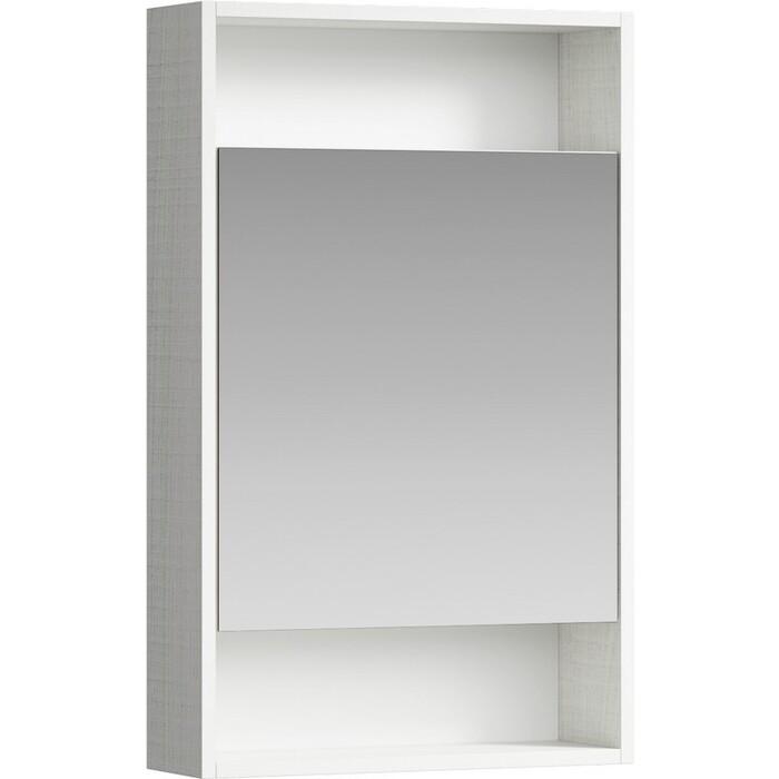 Зеркальный шкаф Aqwella City 50х80 дуб канадский (SIT0405DK)