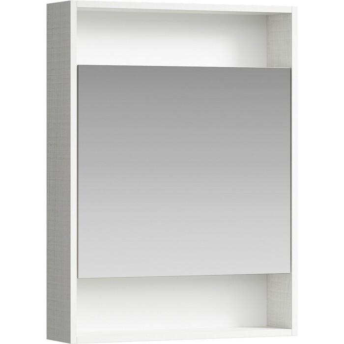 Зеркальный шкаф Aqwella City 60х80 дуб канадский (SIT0406DK)