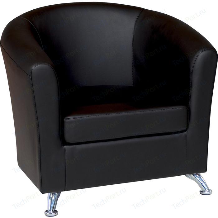 Кресло Шарм-Дизайн Евро экокожа черный