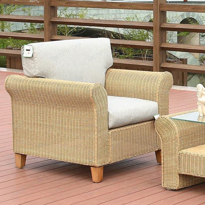 Комплект мебели с диваном Afina garden AFM-4018A