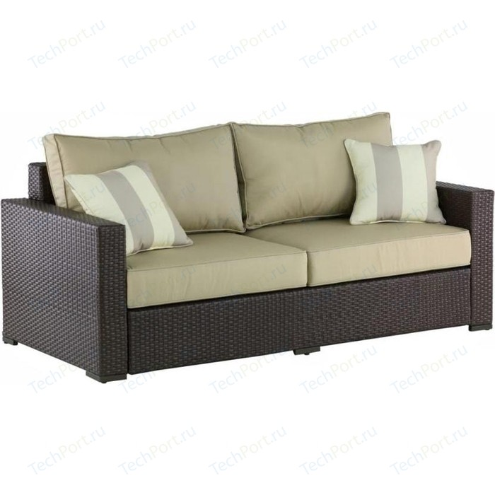 Диван Afina garden AFM-215B brown/light