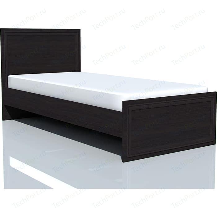 Кровать Сильва НМ 014.42 Браво венге 90