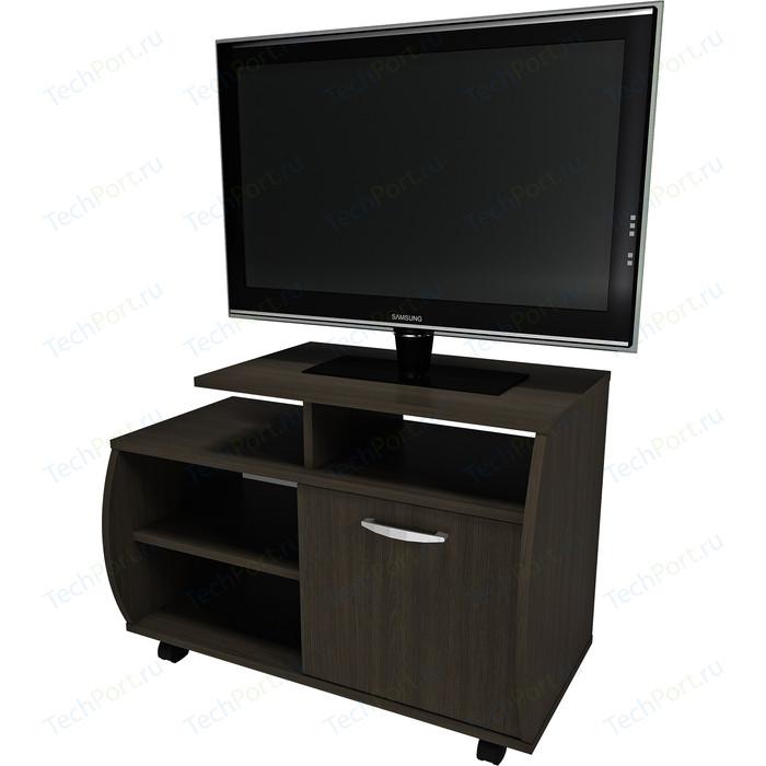 Фото - Тумба Сильва Лада-2 венге под ТВ тв тумба первый мебельный тумба под тв 2 ящика лейла тумба под тв малая с 2 ящиками лейла