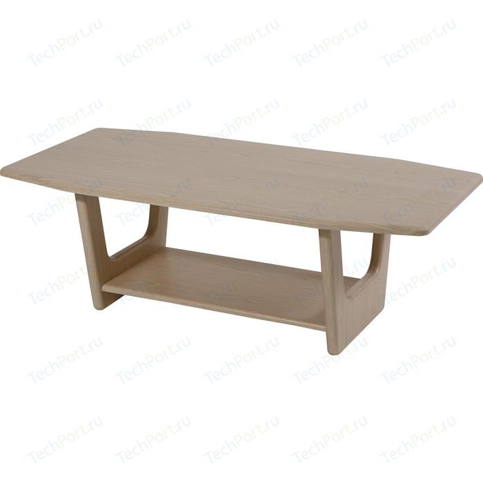 Стол журнальный Калифорния мебель Оникс беленый дуб