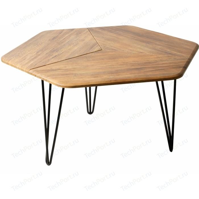 Стол журнальный Калифорния мебель Олдем дуб американский
