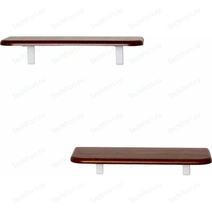Полка Калифорния мебель Комплект Полок Сочи 450 орех